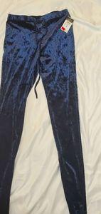 Dark blue Velvet pants